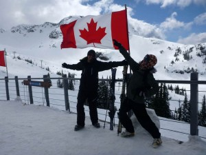 We knew it already, but after a few hours on the slopes we loved Canada even more.